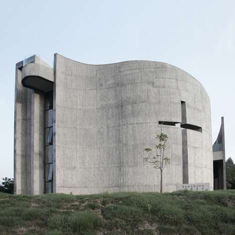 Curving Concrete Cathedrals - Church of Seed Offers a Place for Worship & Gathering