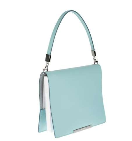 Couture Journalist Handbags - The Jill Sander Diary Bag is for the Creative Classy Woman