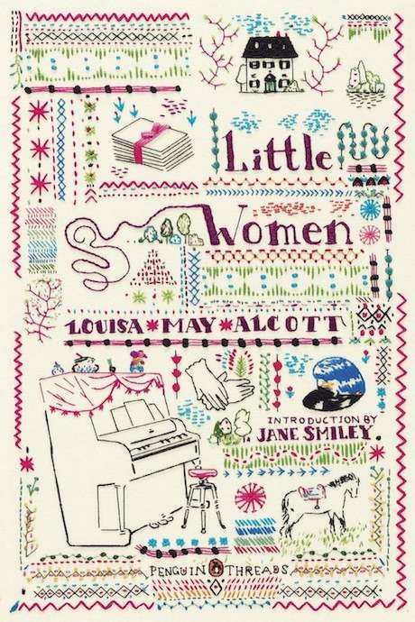 Embroidered Literary Covers