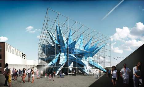 Spiky Interactive Structures