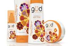 Patterned Petal Branding - Burt's Bees Gud Packaging Gushes with a New Natural Graphic Strategy