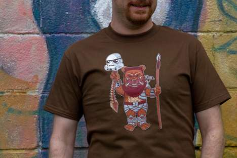The 604Republic Shirts are Mixed with Star Wars and Mutants