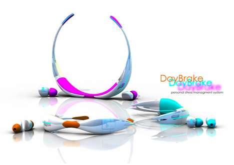 Mood-Improving Headsets - The DayBrake Monitors Your Bodily Response and Endeavors to Relax You