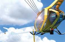 Hot Air Helicopters - The Sky Voyage Uses a Balloon to Fly Instead of Spinning Blades