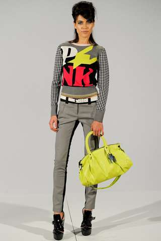 Quirky Neon-Adorned Fashion