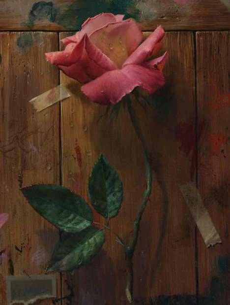 Realistic Rose Renderings
