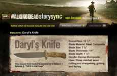 Interactive Kill Count Apps - 'The Walking Dead Story Sync' Adds More to the Viewing Experience