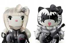 Remixed Pop Culture Felines