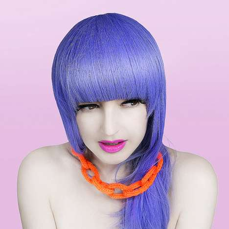 Neon-Popping Accessories - The Pixielated Etsy Shop Rocks You with Color