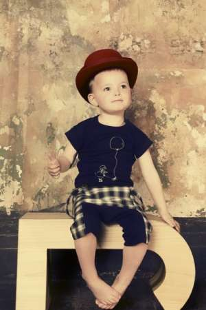 Edgy Baby Fashion Labels - 'Jessie and James' Creates Designer Clothing for Little Ones