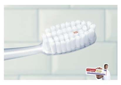 Mini Dental Message Ads