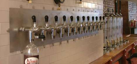 Self-Serve Craft Beer Stores - The Growler Station Offers Unique Brews for Those On-The-Go