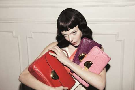 Chic Purse-Clutching Ads