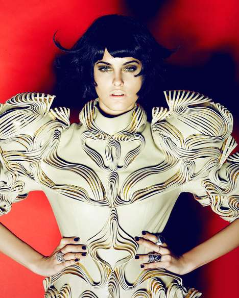 Fierce Textured Fashion