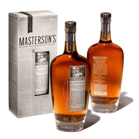 Wild West Whiskey Branding
