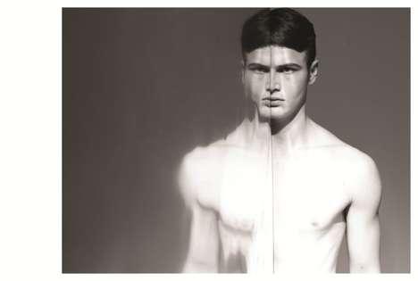 Self-Reflective Menswear Shoots