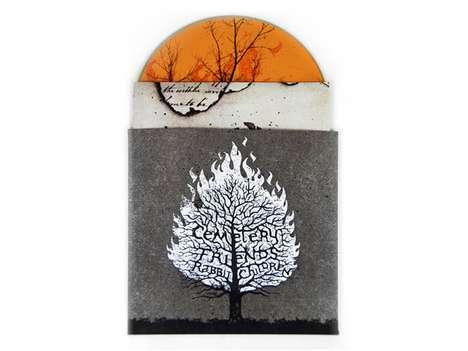 Flaming CD Packaging
