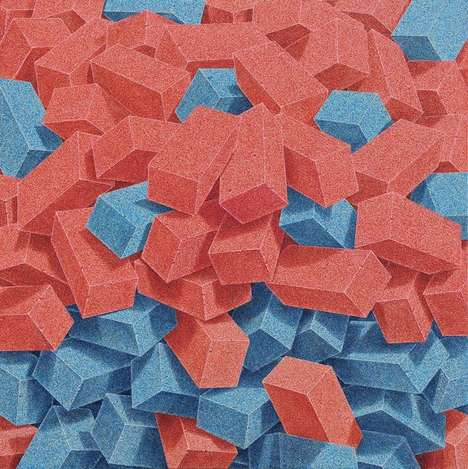 Colorful Collapsing Bricks