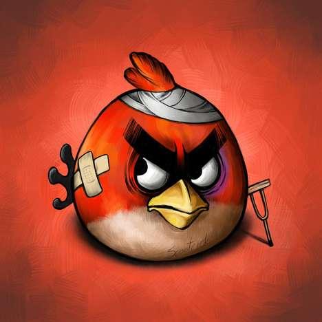 Beaten Avian Depictions