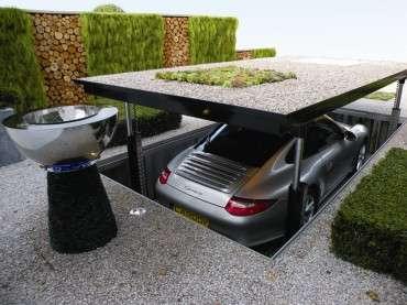Luxurious Elevator Garages