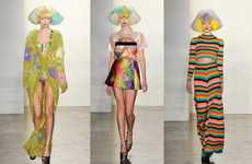 Hippie Clown Fashion - The Jeremy Scott AW12 Collection is Outrageously Psychedelic