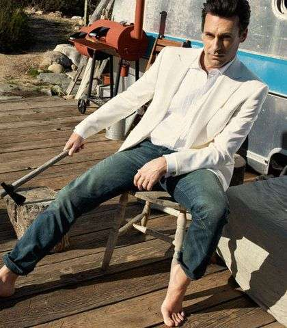 The Jon Hamm Esquire Magazine Editorial is Outdoorsy