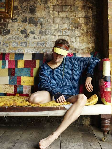 Eclectic 80s Menswear