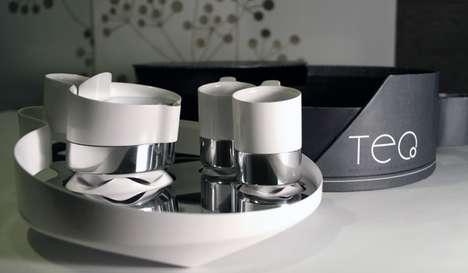Steel-Ceramic Tea Sets