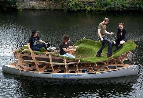 Lush Grass Rafts