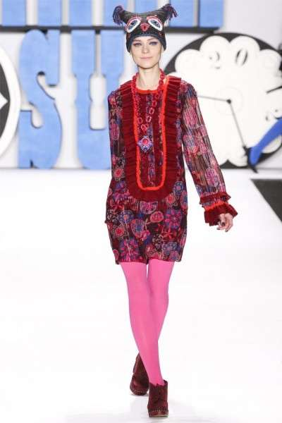 The Anna Sui Fall 2012 Collection is Full of Bold Colors