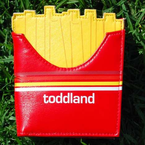 Adorably Appetizing Change Purses - Toddland Creates Cute Wallets Inspired by Fast Food Dishes