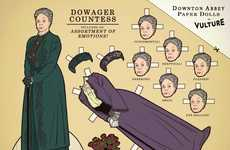 Period Piece Paper Dolls - The Downton Abbey Paper Dolls You Never Knew You Needed