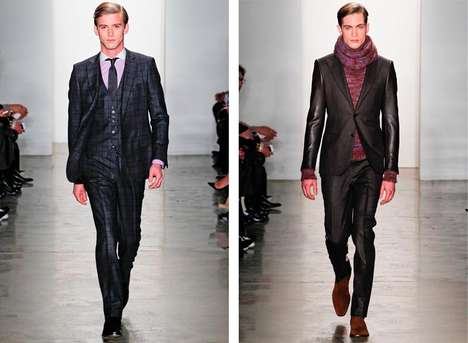 Simon Spurr Fall/Winter 2012 Collection is Clasically Modern