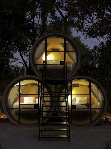 Stacked Barrel Resorts - The TuboHotel by T3Arc Features a Clever and Inventive Design