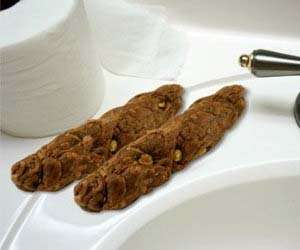 Feces-Shaped Cleansers