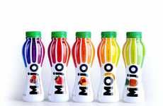 Fruit-Infused Branding - The MOJO Yogurt Packaging is Deliciously Juicy and Inviting