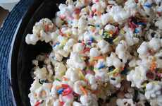 Sprinkled Cinema Snacks - This Birthday Cake Batter Popcorn is a Sweet Take on the Buttered Favorite