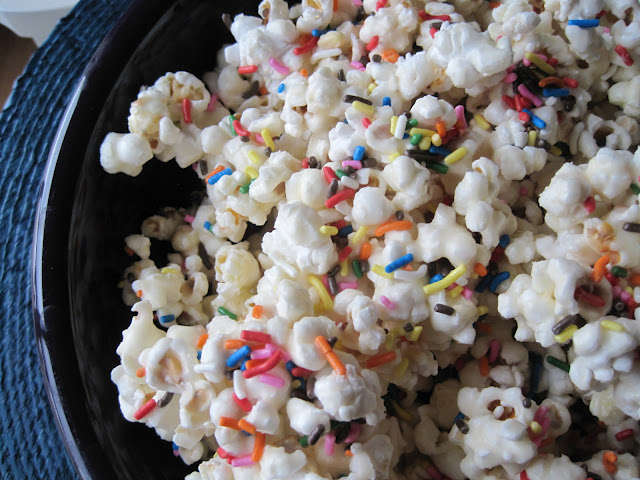 Sprinkled Cinema Snacks