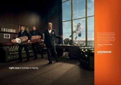 Mafia-Inspired Insurance Ads