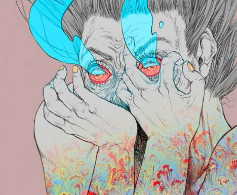 Vibrant Hallucinatory Visions