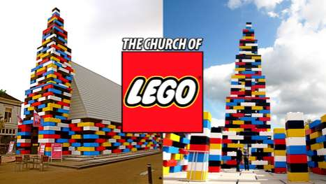 Building Block Cathedrals - The Abondantus Gigantus is a Church of LEGO