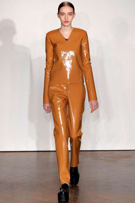 Shiny Patent Suiting
