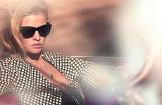 Staged Supermodel Paparazzi Portraits