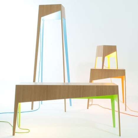 Colorful Furniture Underbellies