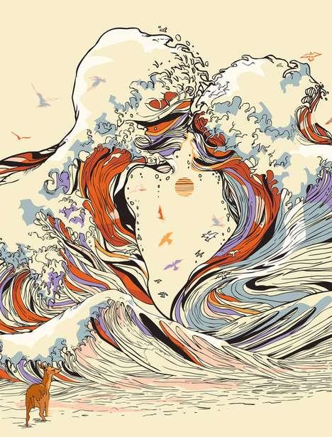 Aqua-Inspired Artistry