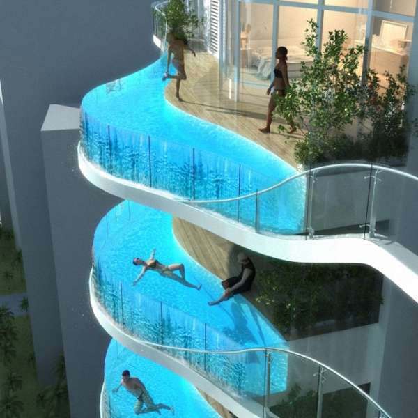 46 Futuristic Swimming Pools