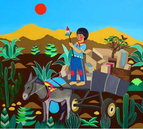 Whimsical Indigenous Illustrations