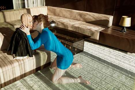 Mannequin Make-Out Editorials