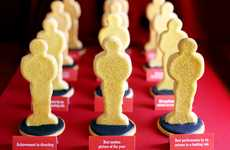 Cookie Cinema Trophies - Bakerella Prepares For the Oscars with These Biscuit Awards