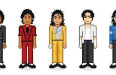 8-Bit Celebrity Caricatures